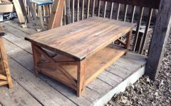 Rustic End Tables And Coffee Tables Most