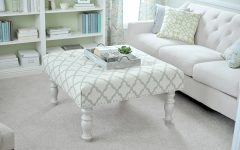 Fabric Ottomans Coffee Tables