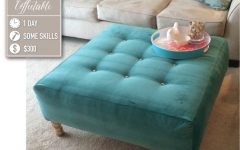 Padded Ottoman Coffee Tables