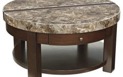 Round Lift Top Coffee Tables