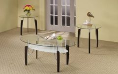 Glass Coffee Tables and End Tables