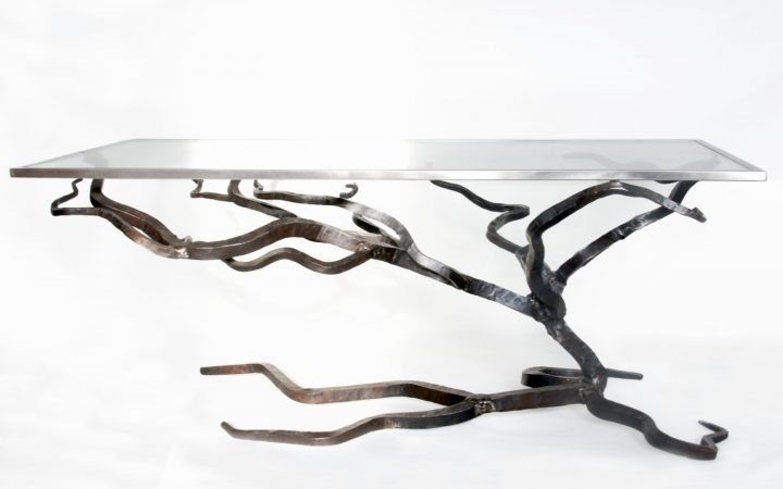 Glass and Steel Coffee Tables