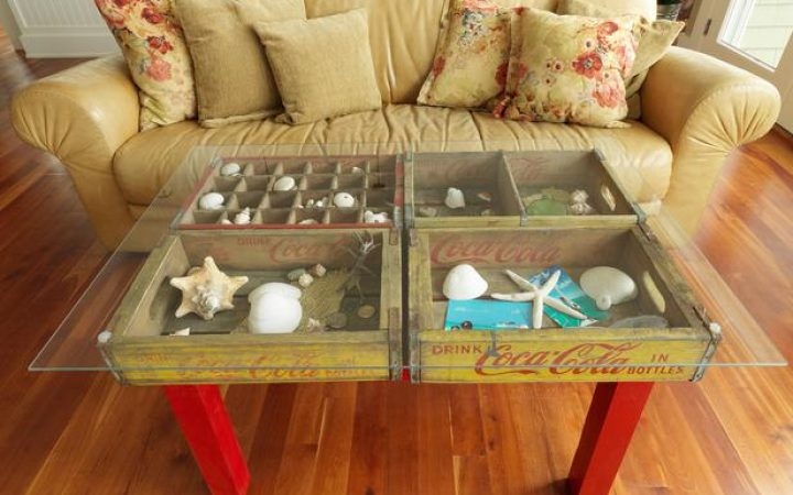 Display How to Make a Glass Coffee Table