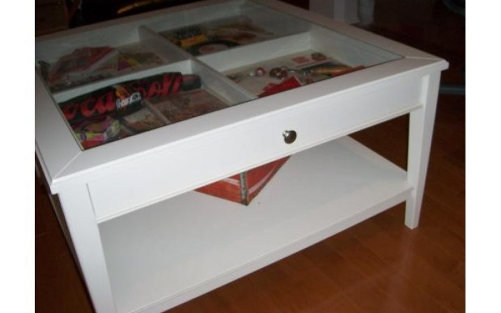 Ikea Coffee Table with Drawers