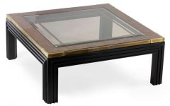 Graphic Display Large Modern Coffee Table