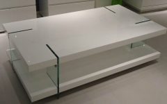 Modern Coffee Table White Details