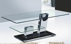 Modern Chrome Coffee Tables