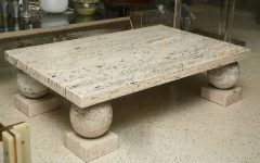 Special Modern Marble Coffee Table