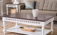 Off White Coffee Table Sets