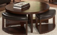 Perfect Ottoman Round Coffee Table