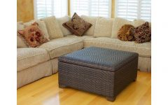 Rattan Ottoman Coffee Tables