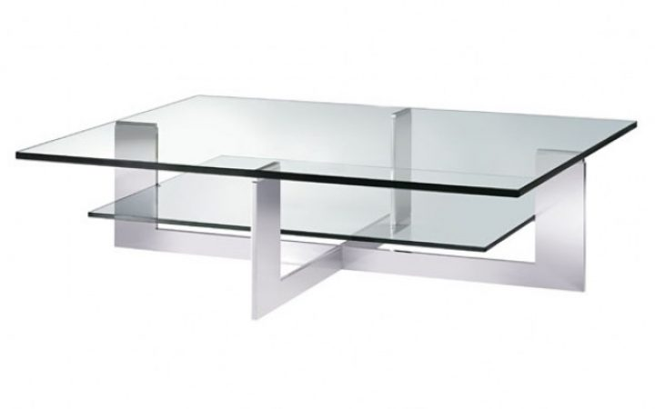 Sample of Rectangle Glass Coffee Table
