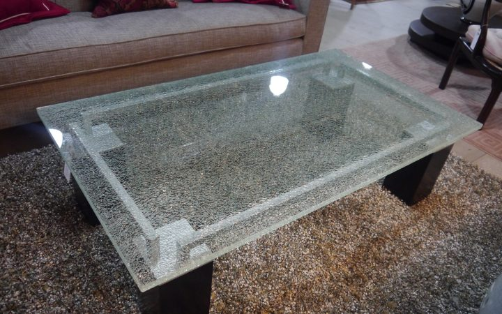 Shattered Glass Coffee Tables
