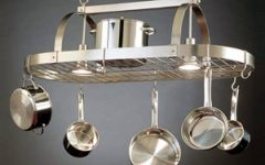 Kitchen Pendant Lights with Pot Rack