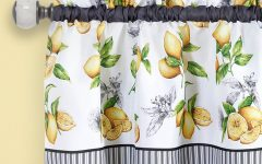 Lemon Drop Tier and Valance Window Curtain Sets