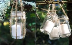 Outdoor Hanging Candle Lanterns