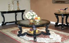 Round Coffee Table Sets for Sale