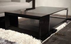 Glass and Black Coffee Tables