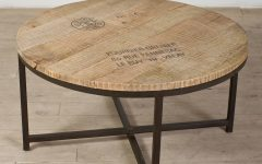 Round Pine Coffee Tables