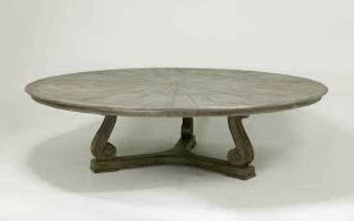 Large Round or Square Coffee Table Sets