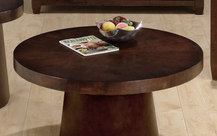 Small Round Coffee Table Wood