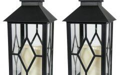 Resin Outdoor Lanterns