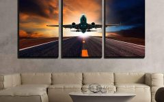 Airplane Wall Art