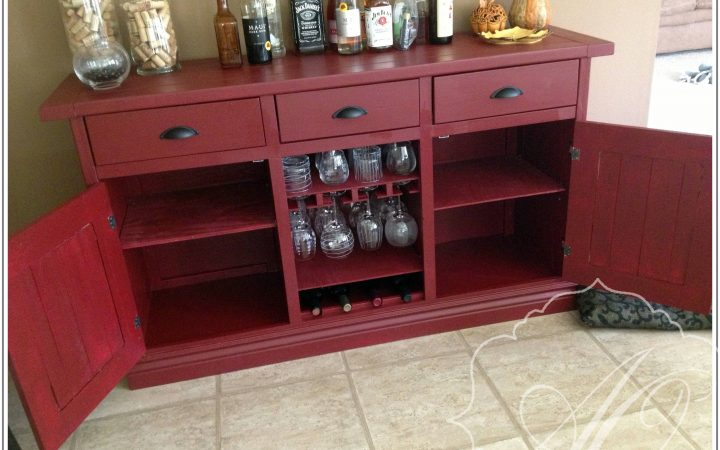 Red Buffet Sideboards