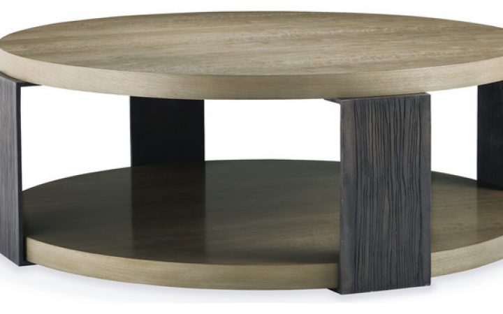 Large Round Contemporary Coffee Tables
