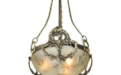 Edwardian Lamp Pendant Lights