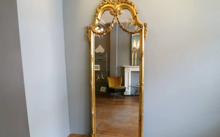 Gold Standing Mirrors
