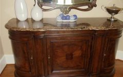 Sideboards with Marble Tops