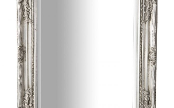 Silver Ornate Mirrors