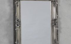 Silver Vintage Mirrors