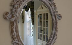 Antique Cream Wall Mirrors