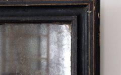 Antique Black Mirrors