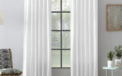 Archaeo Washed Cotton Twist Tab Single Curtain Panels