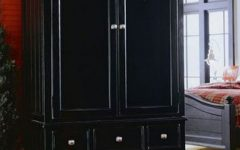 Dark Wood Wardrobe Closet