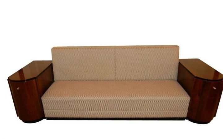 Art Deco Sofa and Chairs