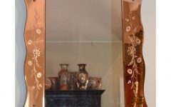 Large Art Deco Wall Mirrors