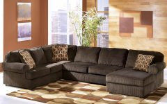 Ashley Corduroy Sectional Sofas
