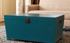 Modern Trunk Coffee Table Wood Simple Elegant