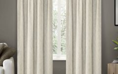 Belgian Sheer Window Curtain Panel Pairs with Rod Pocket