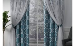 Thermal Woven Blackout Grommet Top Curtain Panel Pairs