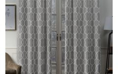 Woven Blackout Grommet Top Curtain Panel Pairs
