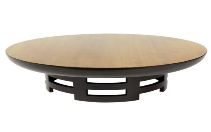 Small Round Low Coffee Table