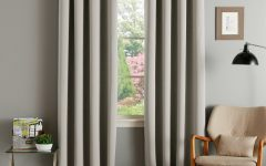 Thermal Insulated Blackout Grommet Top Curtain Panel Pairs