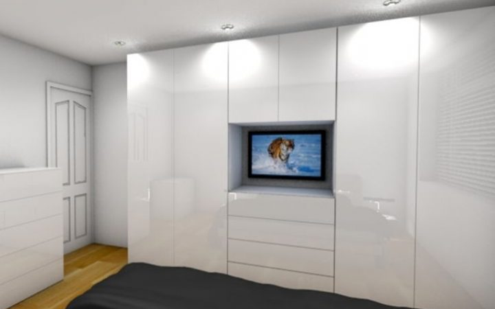 Built in Wardrobes With Tv Space