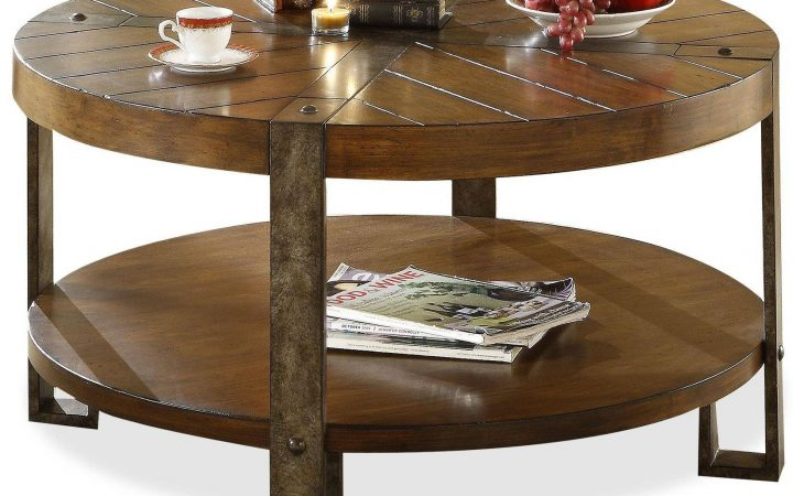 Round Coffee Tables With Storages