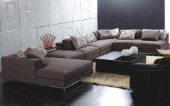 Backless Sectional Sofa